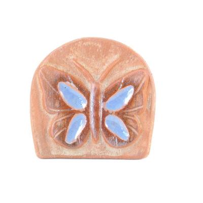 Kartenhalter Schmetterling rot