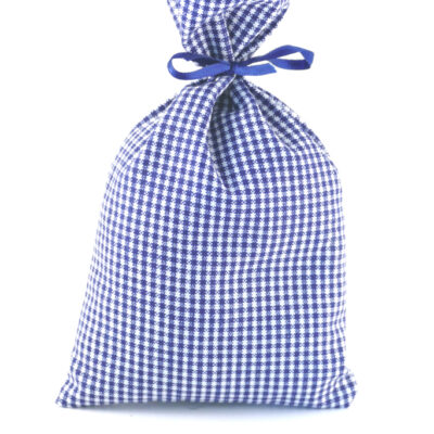 Lavendelsäckchen blau kariert