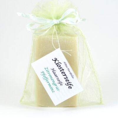 Haarseife Zitronengras-Pfefferminz 60g