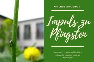 Impuls zu Pfingsten – online