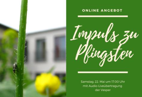 Impuls zu Pfingsten - online