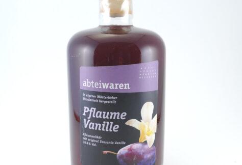 Pflaume-Vanille-Likör