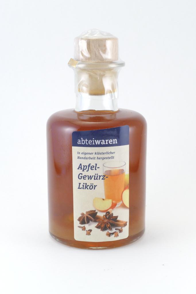 Apfel-Gewürz-Likör